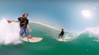 GoPro Surf: VR Party wave with Dave Rastovich and Steph Gilmore