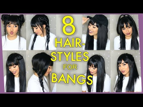8 FALL HAIRSTYLES FOR BANGS/FRINGE - LANASUMMER - WIGENSCOUNTERS DISCOUNT Mp3
