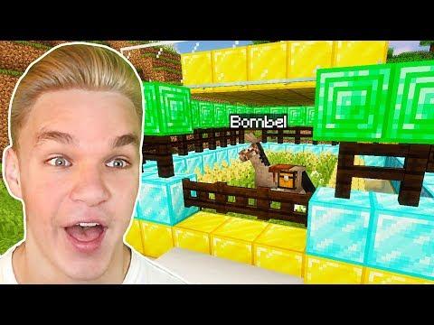 Zbudowałem EPICKI DOMEK dla OSIOŁKA w Minecraft!
