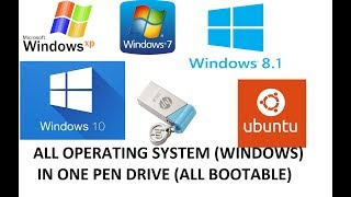 How To Make Bootable Usb Pen Drive For Windows 7 8 8 1 Hindi
