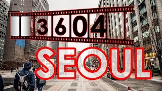 Путешествие в Корею. Прогулка по Сеулу.