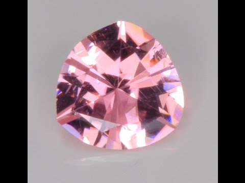 Pink Tourmaline Trilliant from Afghanistan 1.86 Carats
