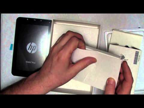 HP Slate 7 Plus Unboxing
