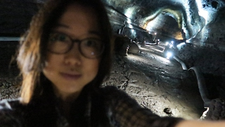 Exploring Underground Cave on Jeju Island & Dongmun Market Tour