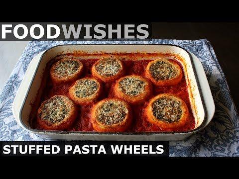 Stuffed Pasta Wheels – Food Wishes