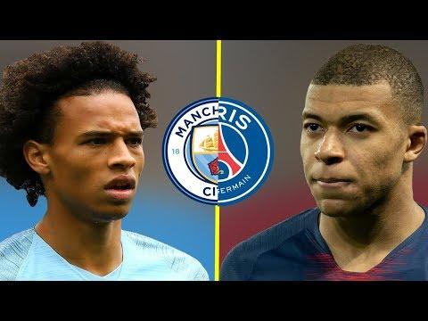 Leroy Sane VS Kylian Mbappe - Who Is The Best Talent? - Amazing Dribbling Skills - 2019