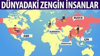 Her Ülkenin En Zengin İnsanı - Türkiye'nin EN Zengin İnsanı Değişti.!