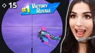 THE BEST SNIPING GAMEPLAY ON FORTNITE *EVER*
