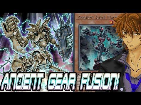 ultimate ancient Gear golem deck (duel links) - смотреть