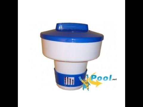 Dosierschwimmer für Chlor oder andere Poolpflegemittel