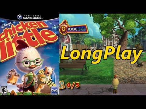 Chicken Little All Cutscenes   Full Game Movie (PS2, PC