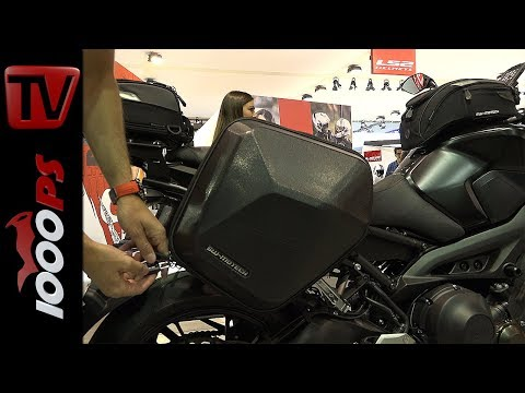 1000PS News - Nakedbike und Retrobike - Ideen für Gepäcksysteme. SW-MOTECH Neuheiten