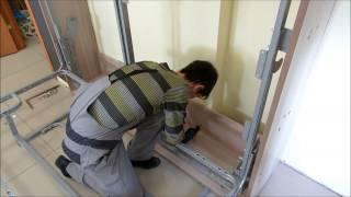 Шкаф кровать диван от Мебель трансформер Екатеринбург (полная версия). Пример работ.