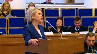 На заседании областного парламента сегодня обсудили более 20 вопросов