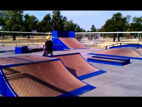 Jake in Hutch skate park
