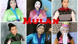 Disneys Mulan Makeup Tutorial