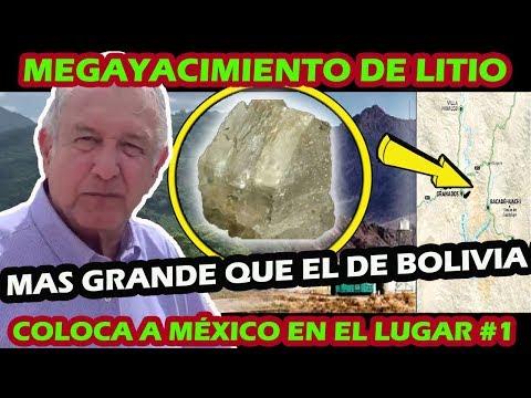 ¡ COMPROBADO ! MEXICO TIENE EL  MAYOR YACIMIENTO DE LITIO EN EL MUNDO DEJA ATRAS A BOLIVIA
