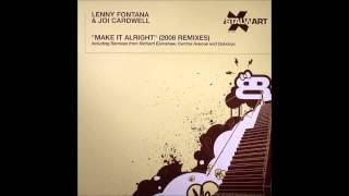 (2008) Lenny Fontana & Joi Cardwell - Make It Alright [Richard Earnshaw 2008 Classic Main RMX]