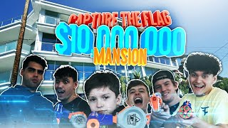 IRL CAPTURE THE FLAG IN $10 MILLION MANSION W FaZe HOUSE