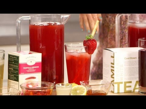 Video Healthy Iced Tea Recipes | Summer Drink Ideas | Fitness How To