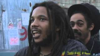 """Damian and Stephen Marley on their video shoot """"All Night"""""""