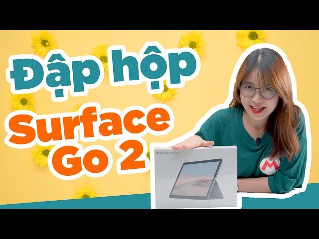 Đập hộp Surface Go 2 của Microsoft: NHỎ - XINH - SANG