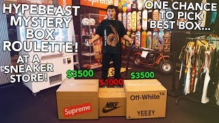 I Played A $3500 Game Of Hypebeast Mystery Box Roulette