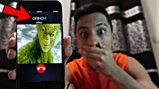 CALLING THE GRINCH *OMG HE ACTUALLY ANSWERED*
