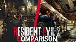 Resident Evil 2 Remake/Original Comparison