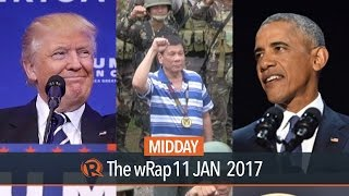 SWS survey, Obama farewell, Donald Trump | Midday wRap