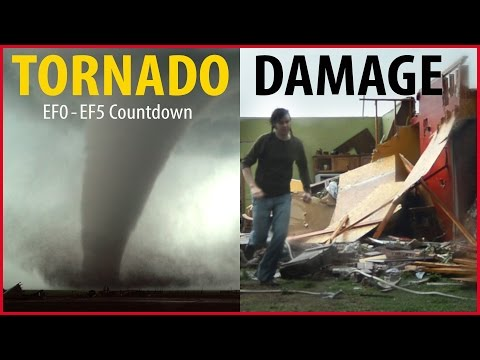 Tornado Damage Countdown: EF0 to EF5