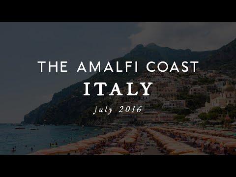 Video Italy's Amalfi Coast // July 2016