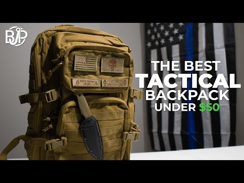 The Best Tactical Backpack Under $50 on Amazon (Unboxing & Review 2021)