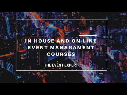 In-house and Online Event Management Courses: The Event Expert ...