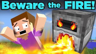 Solving Minecraft's HOTTEST Mystery! | The SCIENCE of... Minecraft