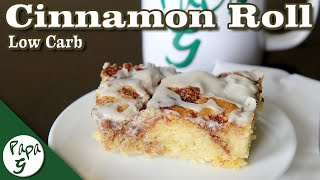 Cinnamon Roll Cake – Low Carb Keto Dessert Recipe