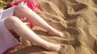 Нагиб на пляже(часть 2) с дядей Богданом