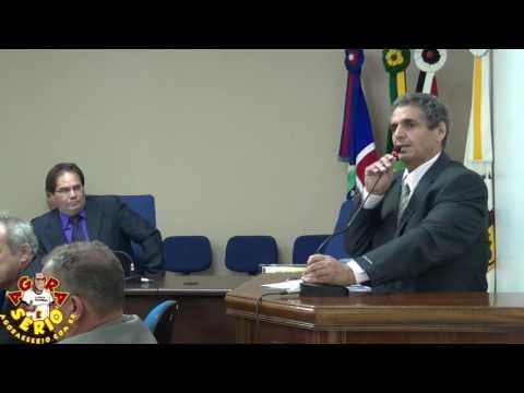 Tribuna Vereador Irineu Machado dia 21 de Março de 2017