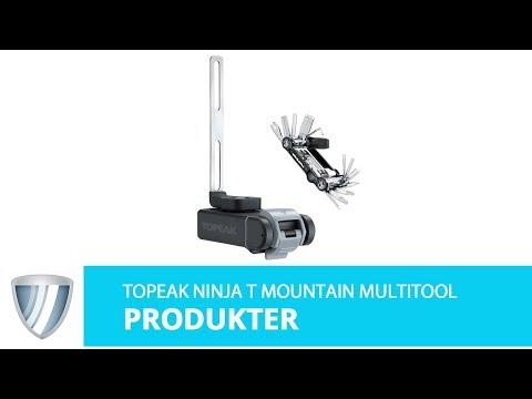 Topeak Ninja T Mountain Multitool til montering ved flaskeholder video