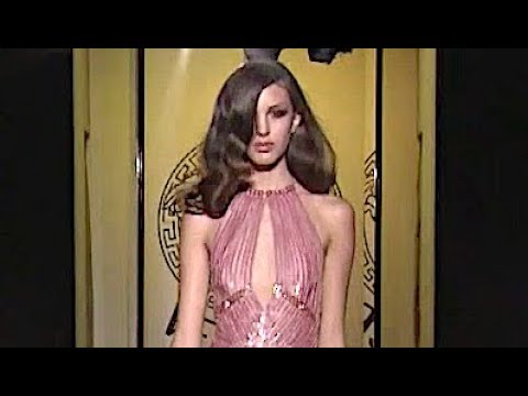 VERSACE Fall 2012 2013 Paris Haute Couture - Fashion Channel