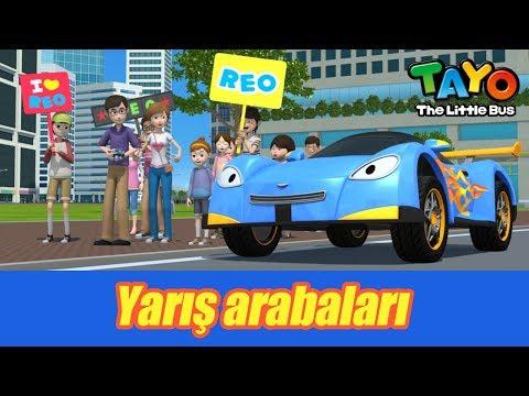 Tayo'nun arkadaşları ile tanışın l Yarış Arabaları l KÜÇÜK OTOBÜS TAYO Türkçe