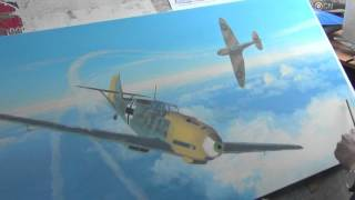 Aviation Art - Messerschmitts Into Battle Part One