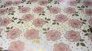 How To Decoupage Gift Wrap Paper Onto Furniture