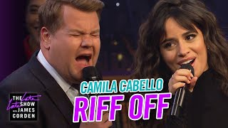 """When James Corden takes a moment to opine on the hits that defined 1999, Camila Cabello shows up with The Filharmonic ready to defend the biggest bops of 2019, and the only way to settle it is a riff off. Camila offers Lil Nas X's """"Old Town Road"""" and Shawn Mendes' """"If I Can't Have You,"""" and James counters with Ricky Martin's """"Livin' La Vida Loca"""" and Santana's """"Smooth,"""" before the two settle a beef over a duet of Camila's """"Señorita.""""  More Late Late Show: Subscribe: http://bit.ly/CordenYouTube Watch Full Episodes: http://bit.ly/1ENyPw4 Facebook: http://on.fb.me/19PIHLC Twitter: http://bit.ly/1Iv0q6k Instagram: http://bit.ly/latelategram  Watch The Late Late Show with James Corden weeknights at 12:35 AM ET/11:35 PM CT. Only on CBS.  Get new episodes of shows you love across devices the next day, stream live TV, and watch full seasons of CBS fan favorites anytime, anywhere with CBS All Access. Try it free! http://bit.ly/1OQA29B  --- Each week night, THE LATE LATE SHOW with JAMES CORDEN throws the ultimate late night after party with a mix of celebrity guests, edgy musical acts, games and sketches. Corden differentiates his show by offering viewers a peek behind-the-scenes into the green room, bringing all of his guests out at once and lending his musical and acting talents to various sketches. Additionally, bandleader Reggie Watts and the house band provide original, improvised music throughout the show. Since Corden took the reigns as host in March 2015, he has quickly become known for generating buzzworthy viral videos, such as Carpool Karaoke."""""""