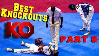 New 2021 : Best Taekwondo Ko Highlights & old school part 8