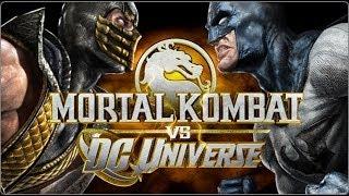 Mortal Kombat vs DC Universe Story All Cutscenes The Movie