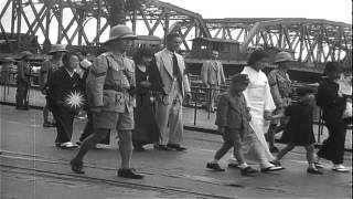 Japanese Foreign Service Officials, In Top Hats And Tails,lead Funeral Procession...HD Stock Footage