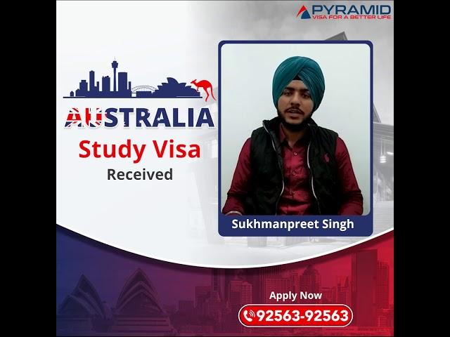 Australia Study Visa Received