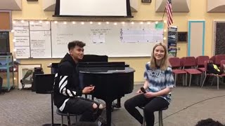 Lovely   Billie Eilish And Khalid Acoustic Duet Cover ( By Carlito And Braelyn )
