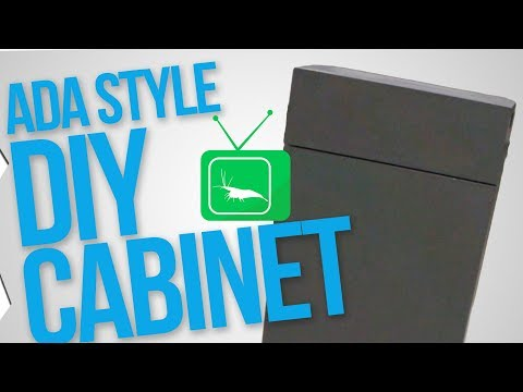 DIY CABINET: UNTERSCHRANK SELBSTBAU | GarnelenTv